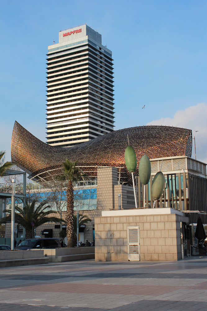Fish, by Frank Gehry. Port Olimpica, Spain. Image Credit: Travel Photographers Magazine