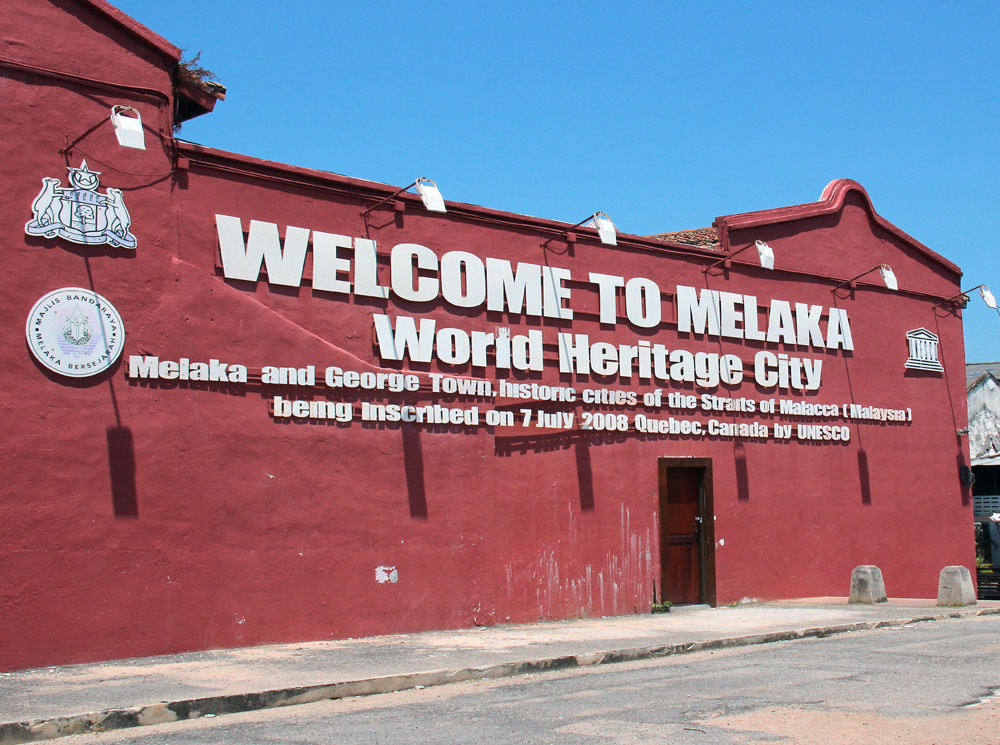 Welcome to Melaka: World Heritage City. Image Credit: Travel Photographers Magazine